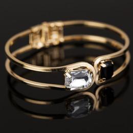 $enCountryForm.capitalKeyWord NZ - Newest Arrival Charm Bracelets Hollow Two Diamonds Korean Style Temperament Fashion Bracelet For Lovers Women Men Gift