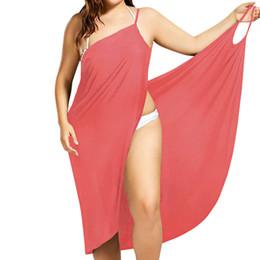 606884b8856b9 Plus Size Pareo Beach Cover Up Wrap Dress Bikini Swimsuit Bathing Suit  Cover Ups Robe De Plage Beach Wear Tunic kaftan Swimwear