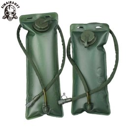 mountaineering packs Australia - Environmental Portable Water Bag TPU 3L Hydration Pack System Bladder Backpack Riding Mountaineering Outdoor Drink Drinking Bags