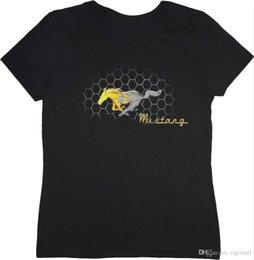 $enCountryForm.capitalKeyWord UK - Ladies T-shirt Ford Mustang Pony Grill Design Men's Tee Shirt