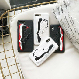 Wholesale Matte Silicone D Basketball Shoes Pattern Phone Cover Sports Rubber Frosted Back Case for iPhone s plus