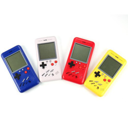 best books gift Canada - Best Gift Retro Classic Childhood Tetris Handheld Game Players LCD Electronic Games Toys Game Console Riddle Educational Toys