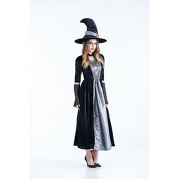 $enCountryForm.capitalKeyWord UK - Women Designer Costumes Clothing 2019 New Halloween Horror Witch Cosplay Costume Witch Cosplay Stage Pack Nightclub Theme Party Costume