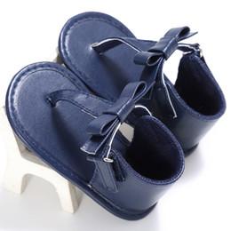 Infant Prewalkers Australia - Summer Newborn Baby Girls Fur Ball Bow Infant Sandals Non-slip Crib Shoes Soft Sole Shoes Prewalkers Toddler flip flops