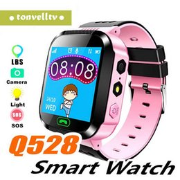 Apple bAby monitor cAmerA online shopping - Q528 GPS Kids Smart Watch with Touch Screen Camera GPS Tracker Smart watch children Monitor SOS for Baby PK Q50 q90