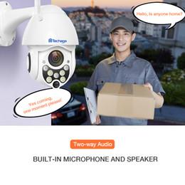 $enCountryForm.capitalKeyWord Australia - Cheap Surveillance Cameras Techage 1080 2MP Wireless PTZ IP Camera Speed Dome WIFI Security Camera Outdoor P2P Cloud ONVIF Two Way Audio