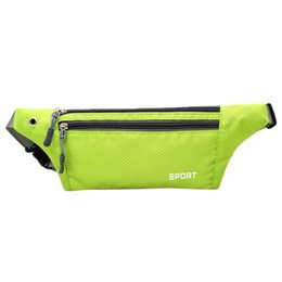 money belt men 2019 - Waterproof Waist Pack for Men Women Carteira Fanny Pack Running Bag Hip Money Belt Travel Mobile Phone Bag Key cheap mon