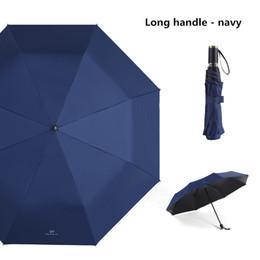 Sun Plastic Coating Australia - Creative three folding sun umbrella black plastic sunscreen UV umbrellas simple solid color and newspaper small fresh umbrella