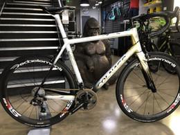 $enCountryForm.capitalKeyWord Australia - Colnago C64 Gold art decor Road complete Full Bike glossy matte white groupset 50mm carbon wheelset COLNAGO saddle