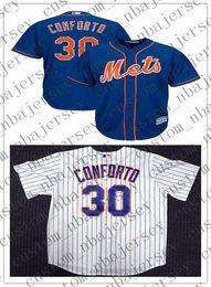 $enCountryForm.capitalKeyWord Australia - Cheap Custom NO.30 Michael Conforto Cool Base jerseys Stitched Retro Mens jerseys Customize any name number XS-5XL