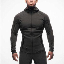 $enCountryForm.capitalKeyWord Australia - Mens Hoodies 2019 Spring New Male Zipper Sweatshirts Sportwear Casual Outdoor Tops Slim Muscular Man Wearing Fashion Designer Coat