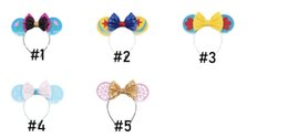 New baby hair online shopping - New Baby Girl princess Headband Cute Child Hairs Band Baby Bow Hair Hoop For Festival Decoration Fashion Girl Princess Hair Accessiones