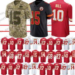 801337c71b2 Chiefs Football Canada - 15 Patrick Mahomes Kansas City Chief jersey 10  Tyreek Hil 14 Sammy