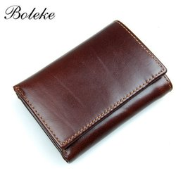 $enCountryForm.capitalKeyWord Australia - Men RFID Blocking Genuine Leather Wallet Trifold Short Minimalist Wallet Vintage Card Holder Male Carteria Masculina 8105 #124626