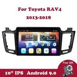 toyota rav4 stereo gps NZ - Android 9.0 Multimedia Player 2.5D For Toyota RAV4 4 XA40 5 XA50 2013-2018 Double Din WIfi Auto Car Radio IPS Screen GPS Stereo