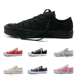 $enCountryForm.capitalKeyWord Australia - Canvas Casual Trainers Shoes For Men Women Classic Black Blue White Pink Green Purple Red Low Style Sports Designer Sneakers Size 35-44