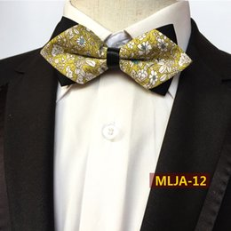 $enCountryForm.capitalKeyWord Australia - Classic Floral Popular Bow Ties Cotton Floral Neckwear Bowtie for Men Suit Bow Tie for Mens Wedding Party Fashion Accessories