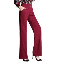 $enCountryForm.capitalKeyWord Australia - N.xinzhe 2018 Autumn Fashion Womens Office High Waist Straight Pant Ladies Winter Pants Women Formal Suits Trousers Female Q190522
