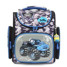 Discount school boy car bags - Delune Brand Boys Waterproof Grade 1-3 Schoolbag Children Girls Orthopedic Backpack Cars Mochila Escolar Kids Cartoon Sc