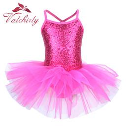 $enCountryForm.capitalKeyWord Australia - Ballerina Fairy Prom Party Costume Kids Sequined Flower Dress Girls Dance wear Gymnastic Ballet Leotard Tutu Dress