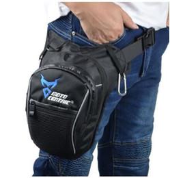 $enCountryForm.capitalKeyWord Australia - Men Waterproof Oxford Waist Drop Leg Bag Thigh Hip Bum Belt Fanny Pack Casual Shoulder Bag Motorcycle Ride Outdoor Running Sport