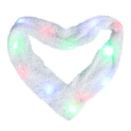 $enCountryForm.capitalKeyWord Australia - LED Scarf Flashing Light Up Scarf Colorful 6 Mode Rave for Halloween Costume Party Toys Christmas