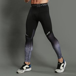 Leggings tights pants socks online shopping - LNCDIS Fashion Fitness Men Running Tights High Elastic Compression Sports Leggings Quick Dry Ankle Length Pants Gym Socks A5