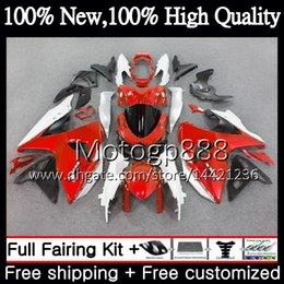 $enCountryForm.capitalKeyWord Australia - Fairing Bodywork For SUZUKI GSX-R1000 GSXR 1000 09 10 11 12 13 15 Red white 33PG10 GSX R1000 K9 GSXR1000 2009 2010 2011 2012 2014 2015 K9