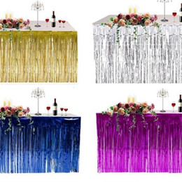 $enCountryForm.capitalKeyWord Canada - Table Skirt Thickening Tassels Background Decorate Table Clothes Wedding Birthday Party Door Curtain Christmas Festival Articles 9 5hb p1