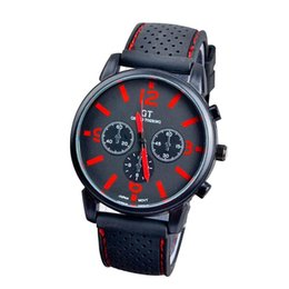 $enCountryForm.capitalKeyWord UK - Mens Quartz Wrist Watch Army Racing Force Watches Men Sports Fashion Racing Luxury Stainless Steel Brand Red Watches