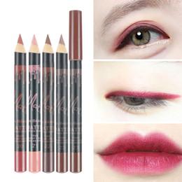 Brands Makeup Australia - Kiss Beauty 3Colors Set Waterproof Lip Liner Pencil Brand New Professional Long Lasting Moisturizing Lipliner Lips Makeup Tools