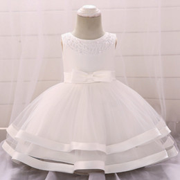 Discount winter ball gown little princess - Girls Dress Little Princess Dress Christening Dresses Embroidered Bow Appliqued Birthday Party Wedding Performance Photo
