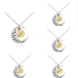 jewel chains Australia - Gold Cursive 26 English Letter Name Sign Personality Pendant Chain Necklace Alphabet Initial Sign Friend Family Lucky Gift Necklace Jewel#960