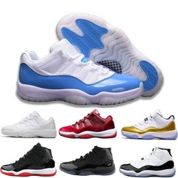 Woman Shoes 11 Australia - wholesale 2019 Concord 11 Trainers Basketball shoes 11s women white black Blue Midnight men Designer space jam sneakers shoe size13