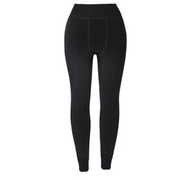 wholesale thick leggings UK - 2019 New Fashion High Waist Slim Trousers Women's High Elasticity And Good Quality Thick Velvet Pants Warm Leggings