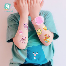 egg plush Australia - New eco-friendly waterproof children tattoo sticker Egg Plan animation anime the same tattoo sticker fun tattoo Sticker