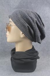 Discount plastic skull caps - Woman man Winter Hat Women's Multi-function Hat Scarf Cap Baotou Cap for Women 2018 Summer Fashion Set Head Caps Me