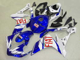 Yamaha R1 Fairings Fiat Australia - 3 gifts high quality New ABS motorcycle fairings fit for YAMAHA YZF-R1 2007 2008 R1 07 08 YZF1000 fairing kits custom blue FIAT