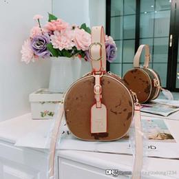 $enCountryForm.capitalKeyWord NZ - Old Flower Color Matching Round Bread Hand Bag Designer Woman Handbag Shoulder Worn Purse Evening Clutch Bags Purses Ladies Handbags Women