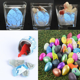 Wholesale hatch for sale - Group buy Dinosaur egg water hatching growing dinosaur eggs expansion cracks magic cute children kids toy creative funny Add Water Growing Dino Eggs