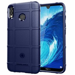 $enCountryForm.capitalKeyWord Australia - For Huawei Honor 8X Max Y9 2019 Case Cover Soft Silicone Armor Rugged Non-Slip Matte Finished Shield Anti Fingerprint
