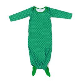 $enCountryForm.capitalKeyWord NZ - Wholesale Baby Clothes Milk Silk Sleeping Wear Mermaid Sleeping Bag for Infant & Toddler Children Free Shipping