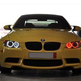 Bmw M3 Lights Australia - 2Pcs Set H8 Error Free 20W LED Angel Eye Marker Lights Bulbs For BMW 1 3 5 Series E60 E61 E70 E71 E90 E92 E93 X5 X6 Z4 M3