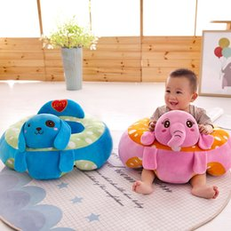 $enCountryForm.capitalKeyWord Australia - [TOP] Safe Animal Baby Seat Toy Plush Pikachu Elephant Dog Dolls Infant Back Support Learning Sit Safety Baby Sofa Feeding Chair