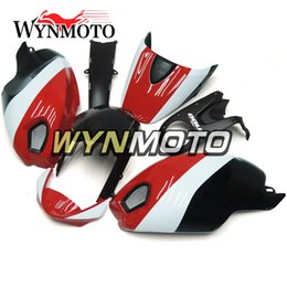 Motorcycle S Fairings NZ - ABS Plastic Full Fairing Kit For Ducati 696 796 795 M1000 M1100 2009 2010 2011 Injection Motorcycle Cowlings Gloss Red White Black Bodywork