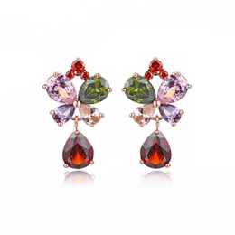 $enCountryForm.capitalKeyWord UK - New cubic zirconia CZ fashion drop-shaped colored crystal earrings Charm ladies party party jewelry gift support wholesale5-ER54