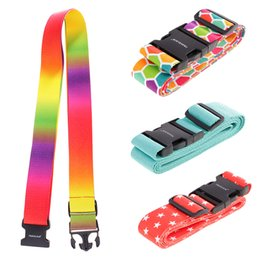 security suitcases luggage Australia - Suitcase Luggage Buckle Strap Travel Baggage Security Tie Down Belt for Gift