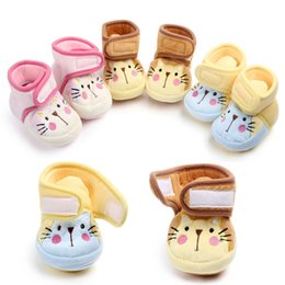 $enCountryForm.capitalKeyWord Australia - Fashion Soft Booties Cotton Baby Shoes for Newborn First Walkers Baby Slider Summer Prewalker Shoes 0-18 M Wedding Shoes