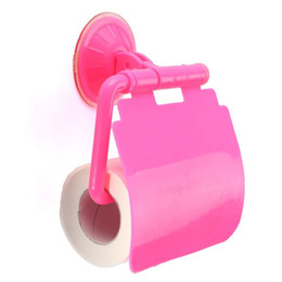 Wholesale Roll Paper Towels Australia - New Solid Plastic Towel Rack Spare Toilet Wall Mounted Type Paper Holder Rack Tissue Box Roll Stand for Toilet and Kitchen