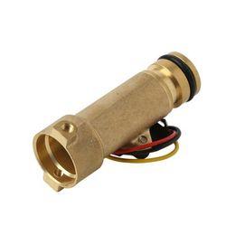 Hall flow sensor online shopping - Fireplace Water Flow Sensor Meter Rate Heater Turbine Sensor Hall Flowmeter for Water heaters G1 L min MPa DC3 V